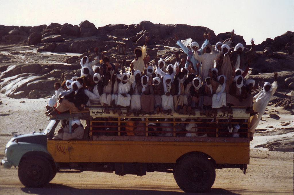 Transport Through The Sahara Desert In Africa    Travel