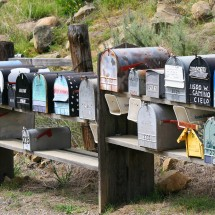 postboxes-santa-barbara-california-usa