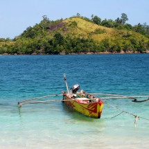 Island hopping by boat is just one thing you can do here...