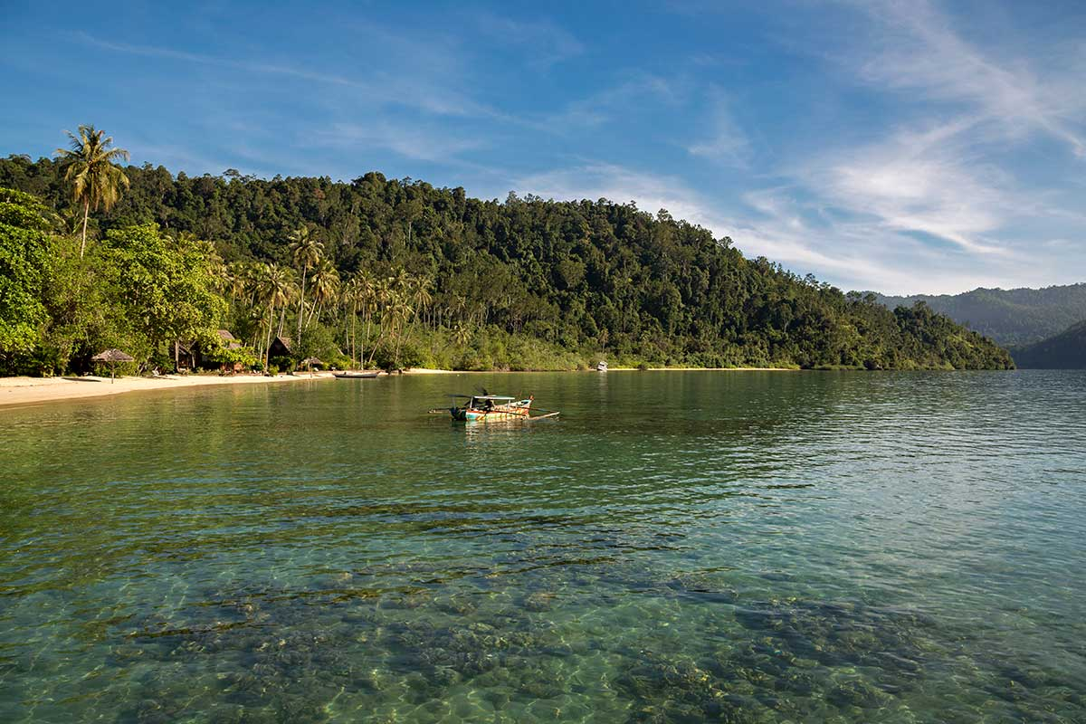 Cubadak island is one of the beach paradise island off the West coast of Sumatra.