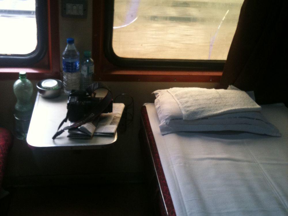 Comfy first class.