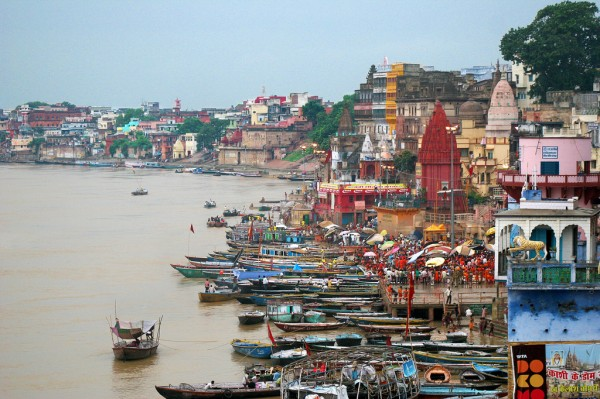 Varanasi takes your breath away. As does the Ganges river.