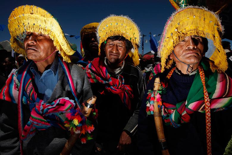 The Aymara in Bolivia. Photo credit © Juan Karita.