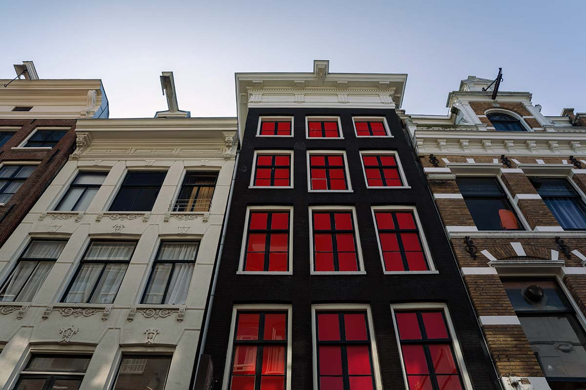 Hooks can be found on pretty much all the buildings in Amsterdam.