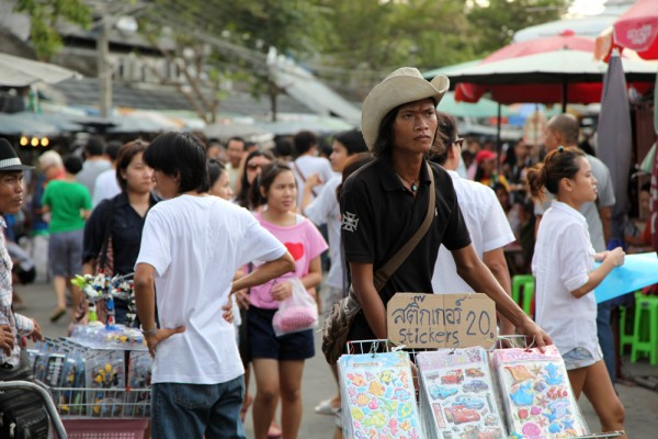 You'll pretty much find anything at Chatuchak market.