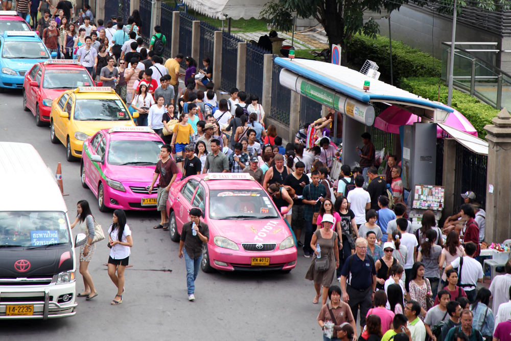 Just follow the crowd to Chatuchak market.