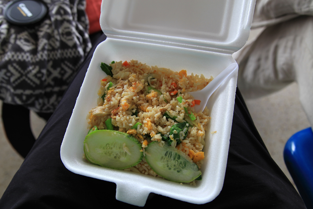 Fried rice - I ate that at the bus station in Trat & it was yummy as well.
