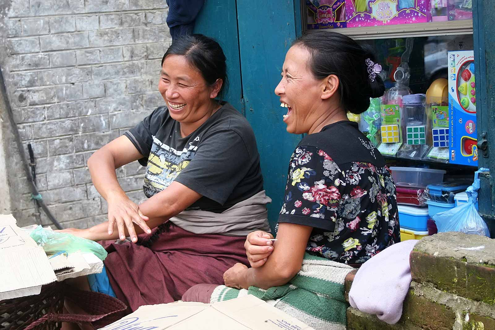These market women really seemed to enjoy themselves ;)