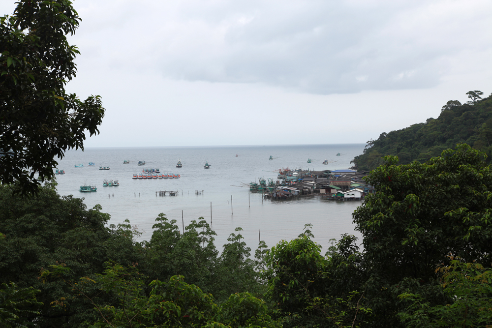 The fishing village Ban Aoyai on Koh Kood island.