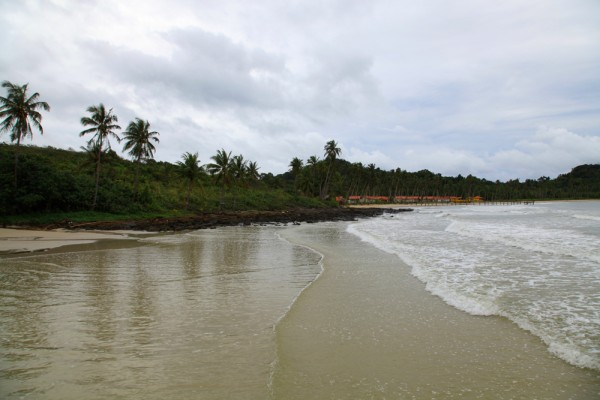 One of the beaches on Koh Kood island.