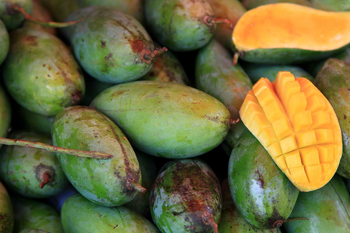 Mangoes are one of our favourite fruits and at Saphan Khao market, you'll find tons of the most yummy mangos you'll ever come across.