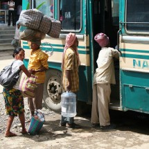 Bus transportation from Kohima to anywhere in India.
