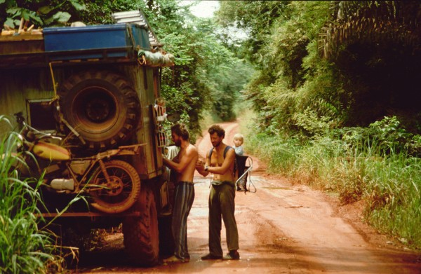 Travelling through the Congo was a real adventure.