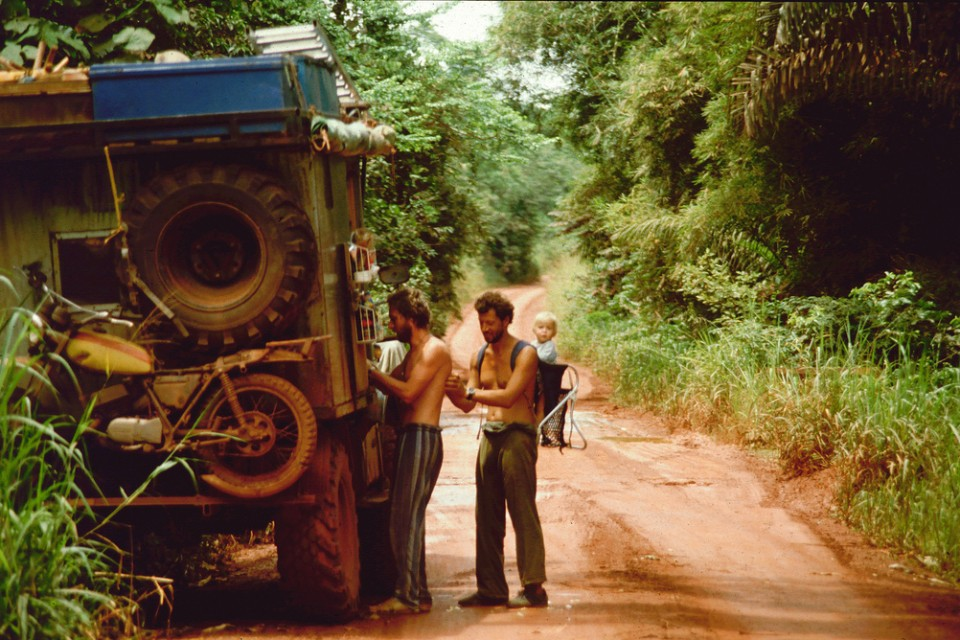 Travelling through Africa in the early 70′s.