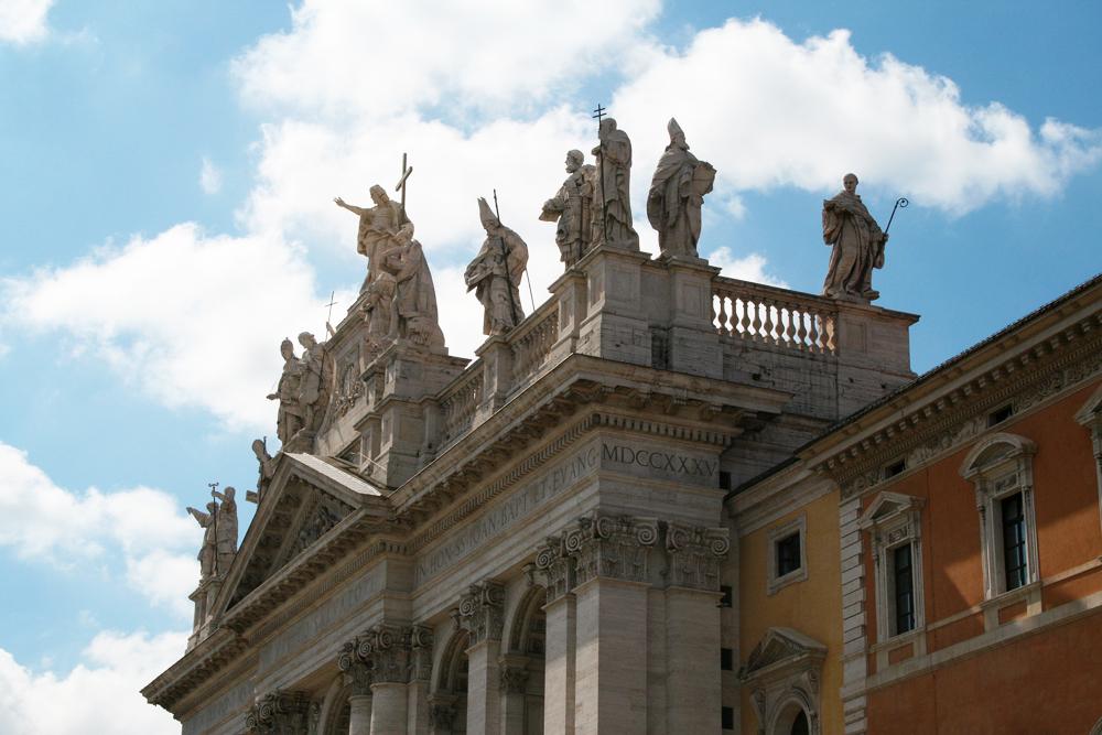 San Giovanni in Lateranto in Rome.