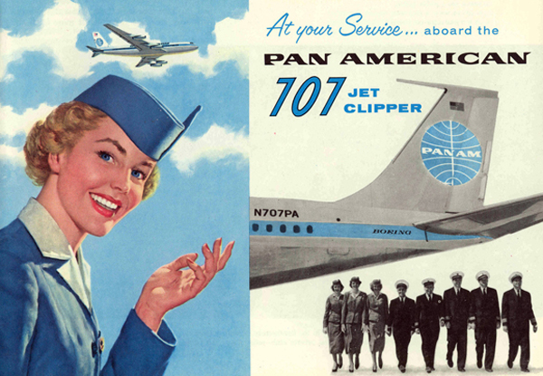 Pan Am at your service.