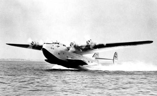 A Pan Am Yankee Clipper.