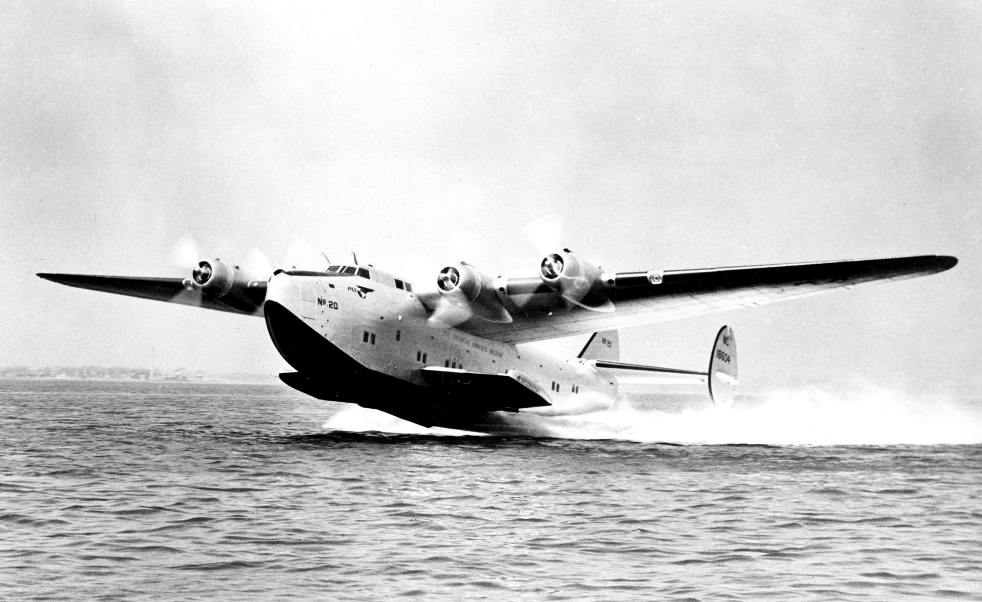 A Pan Am Yankee Clipper.