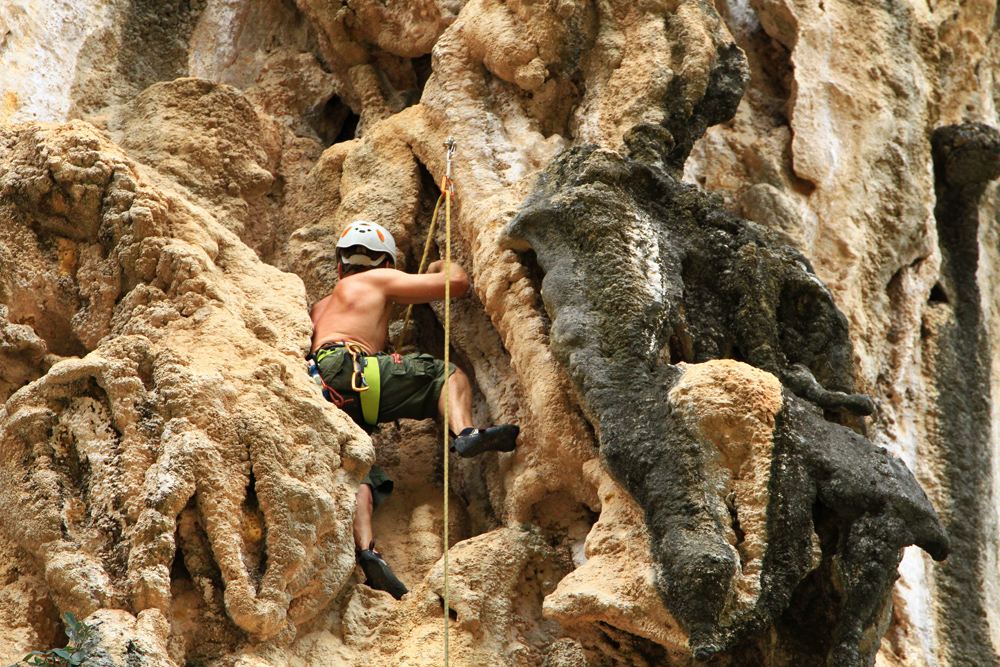 For this kind of climbing, you should know what you're doing...
