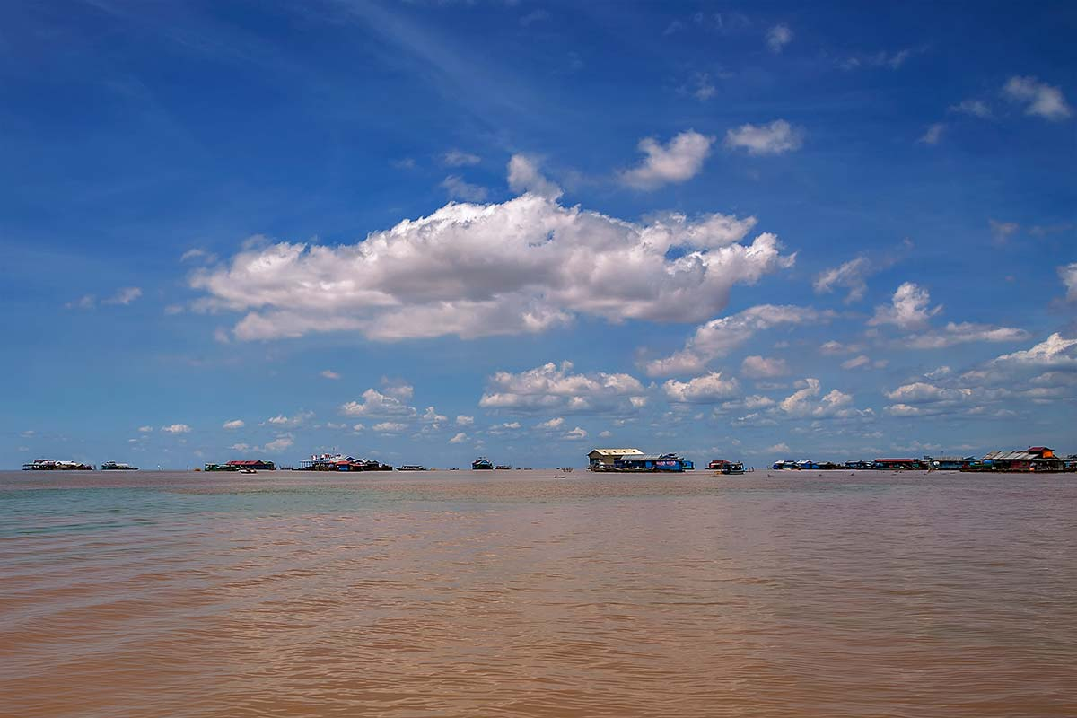 Tonle Sap Lake is also an important commercial resource, providing more than half of the fish consumed in Cambodia.