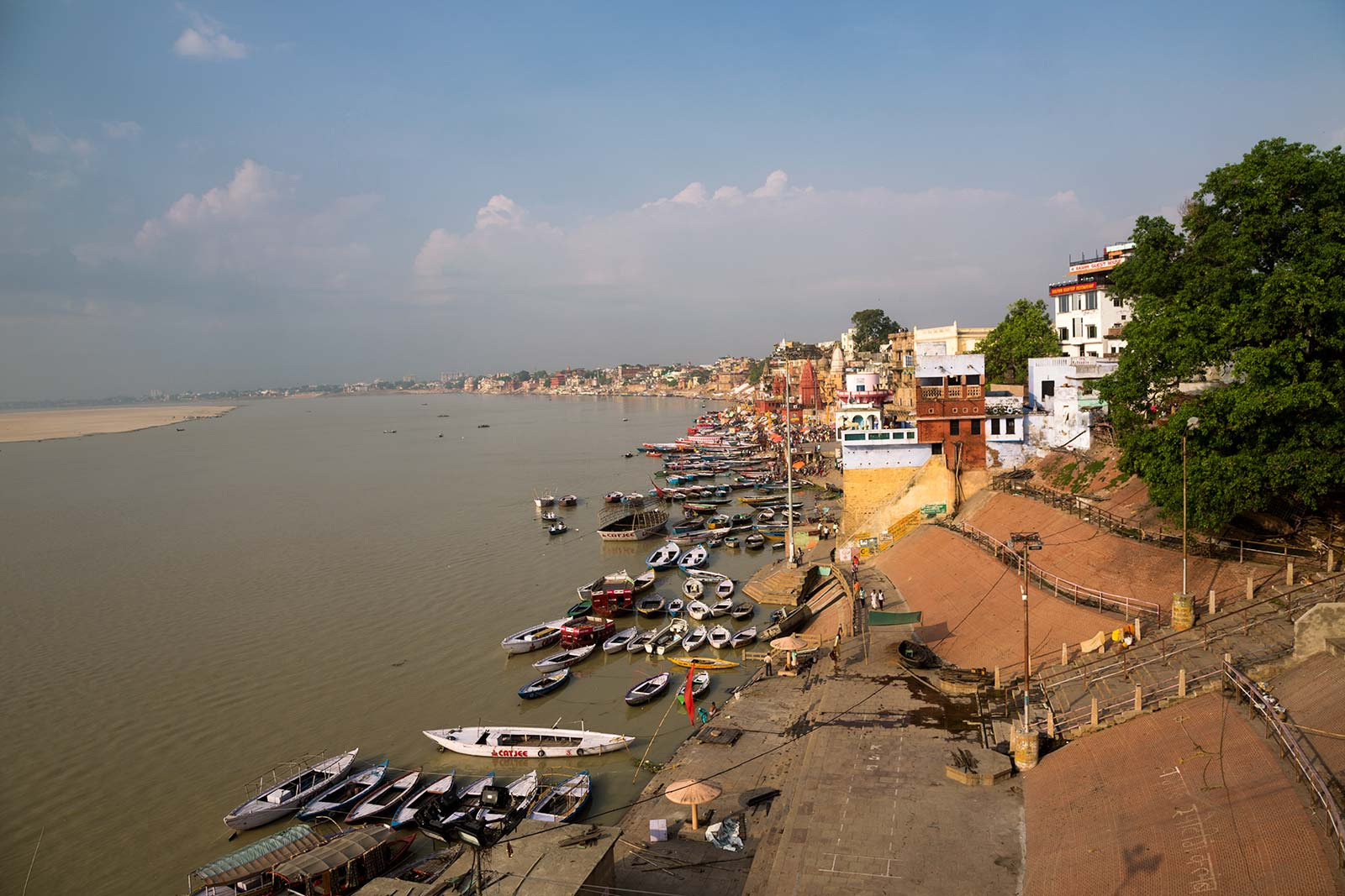 Alka Hotel offers one of the most spectacular views of Varanasi's skyline.