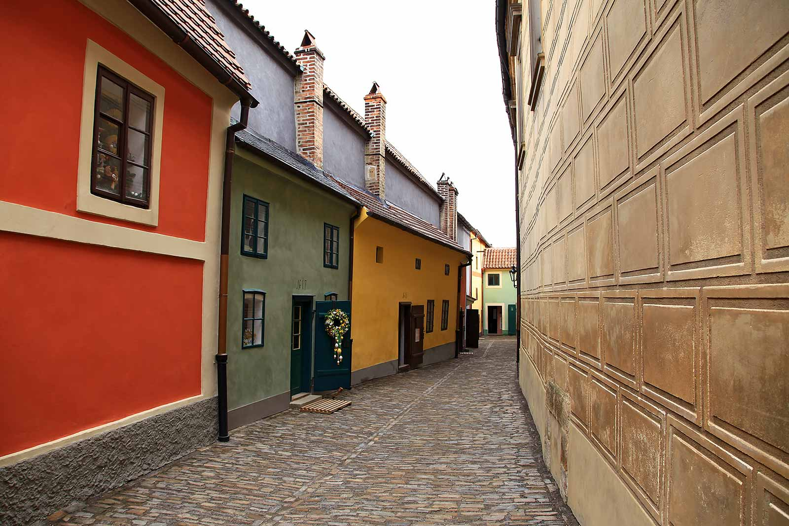 "The name ""Golden lane"" inside Prague Castle is connected with 16th century alchemists, who had to look there, according to legends, for a reaction to produce gold."