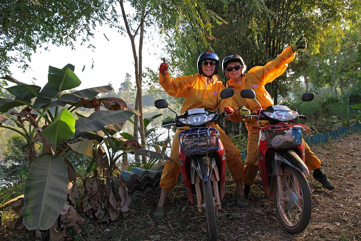 Motorbiking through Laos was one of the best adventures ever. And as you can see, we had heaps of fun.