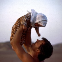 Baby Nisa in Africa.