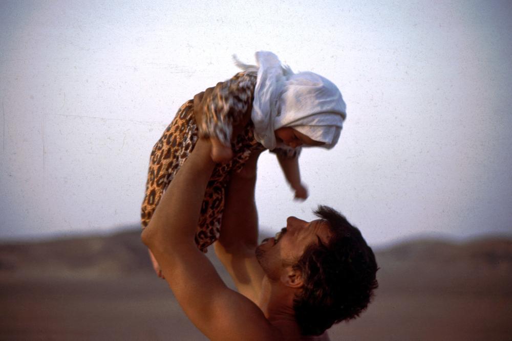 Baby Nisa in Africa.