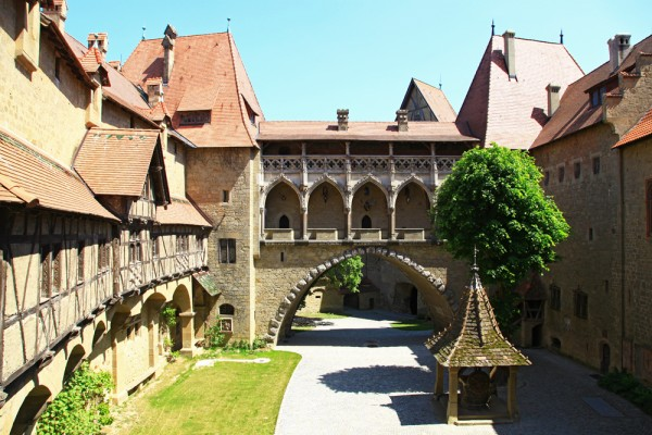 The inside of Burg Kreuzenstein is just as beautiful as the outside.
