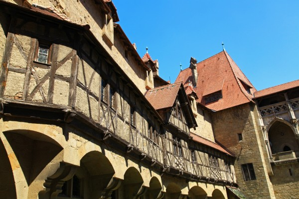 Imagine how knights used to live at Burg Kreuzenstein...