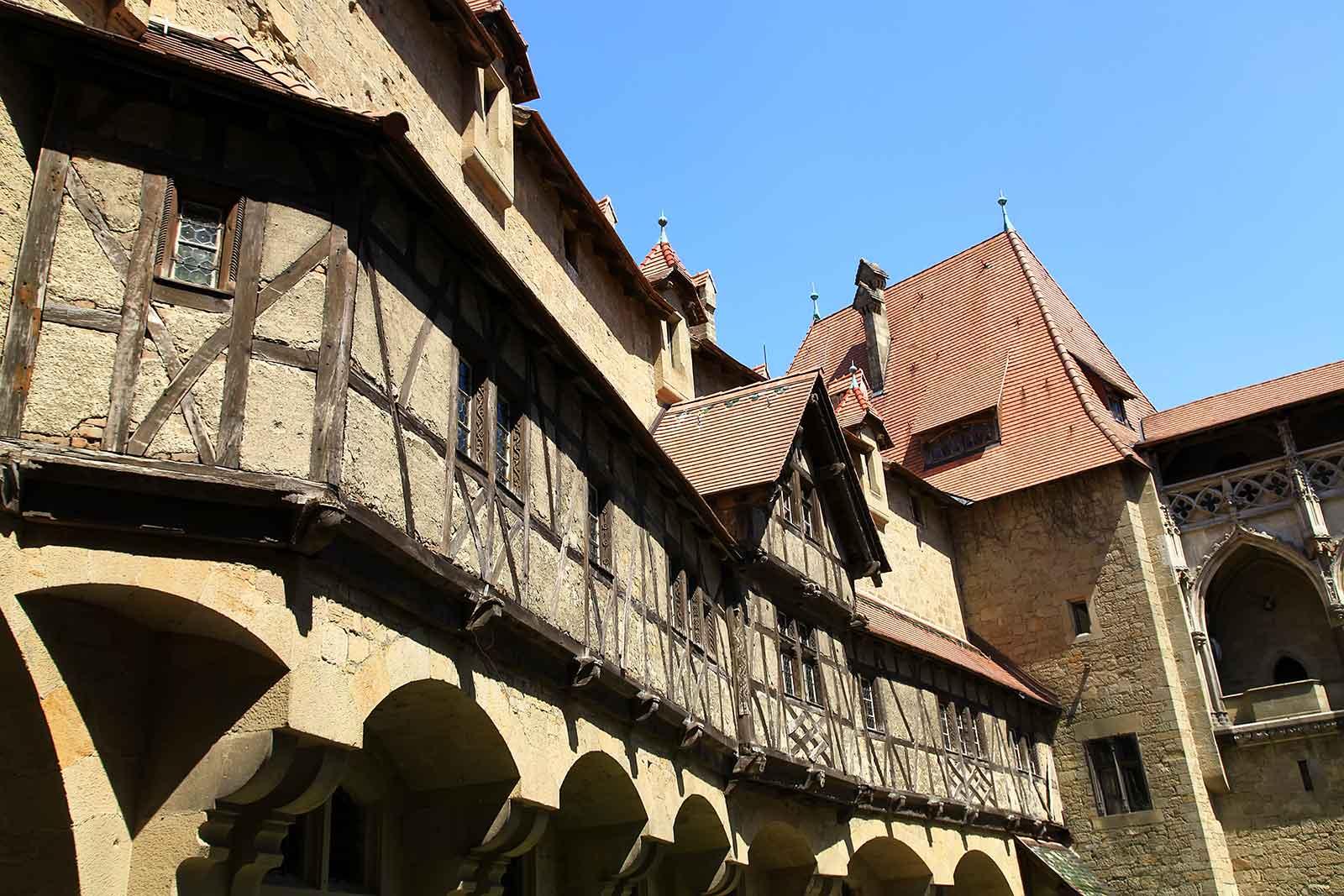 Imagine how knights used to live at Burg Kreuzenstein...