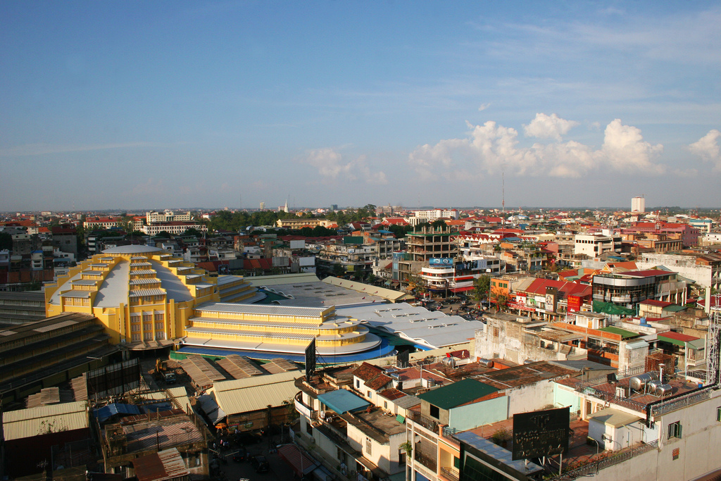 Apart from the highest skyscraper, Phnom Penh's skyline hasn't really changed that much since 2009.