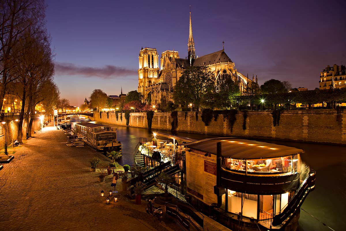 The Notre Dame cathedral is widely considered to be one of the finest examples of French Gothic architecture, and it is among the largest and most well-known church buildings in the world.