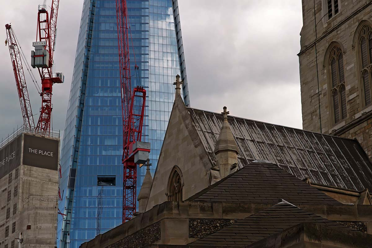 The Shard's construction began in March 2009; it was topped out on 30 March 2012 and inaugurated on 5 July 2012. Practical completion was achieved in November 2012.