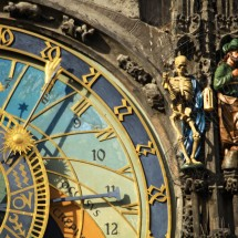 Astronomical Clock in Prague, Czeck Republic.