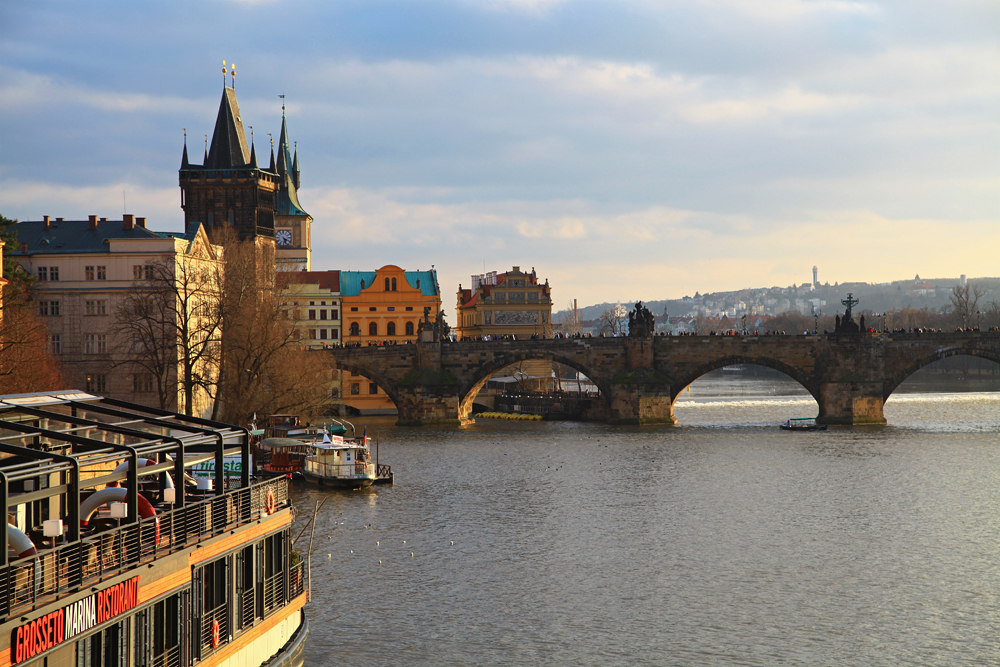 Strolling across Charles Bridge is everybody's favourite Prague activity. If you want to experience the bridge at its most atmospheric try to visit it at dawn.