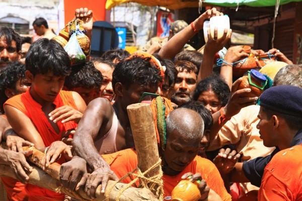 Hustle & Bustle in Varanasi, India.