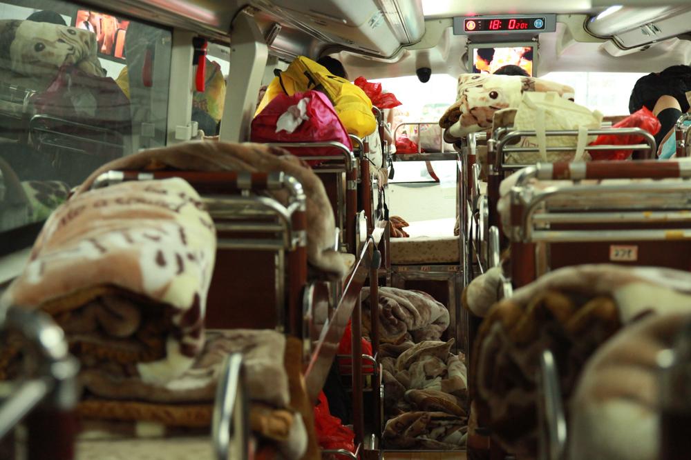 No fatties allowed in the sleeper bus from Guangzhou to Yangshou.