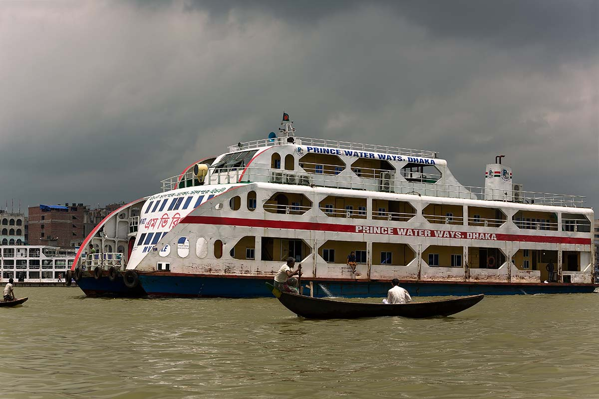 Several ferries in Bangladesh sink yearly due to either overloading or simply because the boats are not maintained very well.