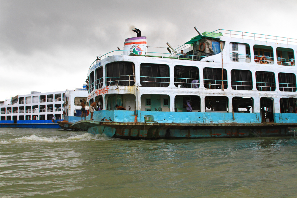 Counting the many ferries at Sadarghat port in Dhaka is almost impossible.