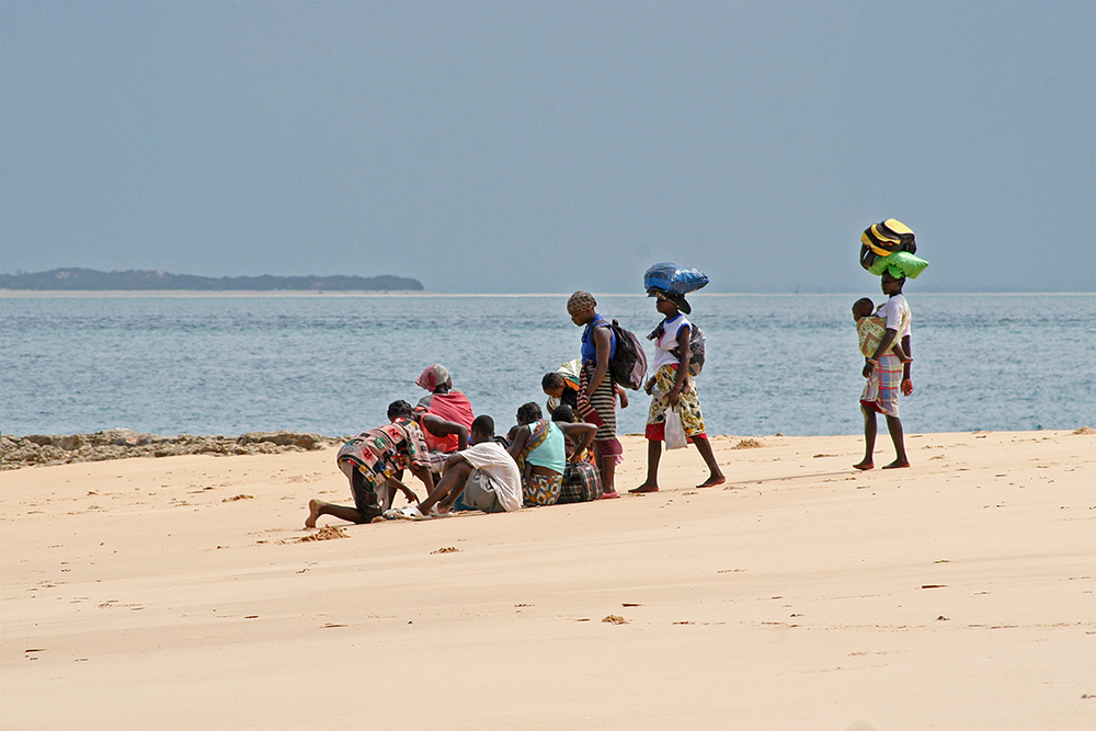Waiting for the neyt ferry off Bazaruto Island in Mozambique.