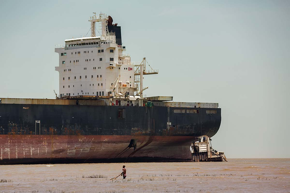 Ship breaking allows materials from the ship, especially steel, to be recycled. Equipment on board the vessel can also be reused.