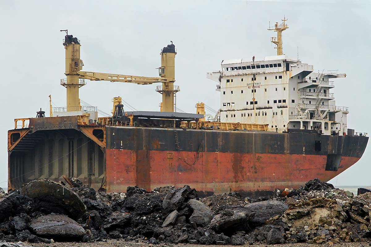 At one stage the Chittagong Ship Breaking Yard was a tourist attraction, but outsiders are no longer welcome due to its poor safety record; a local watchdog group claims that one worker dies a week on average.