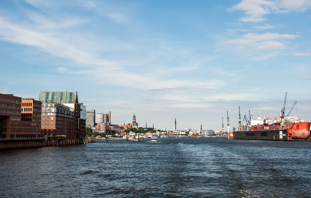 The HafenCity in Hamburg, German. Photo credit by flickr member Ruth Flickr.