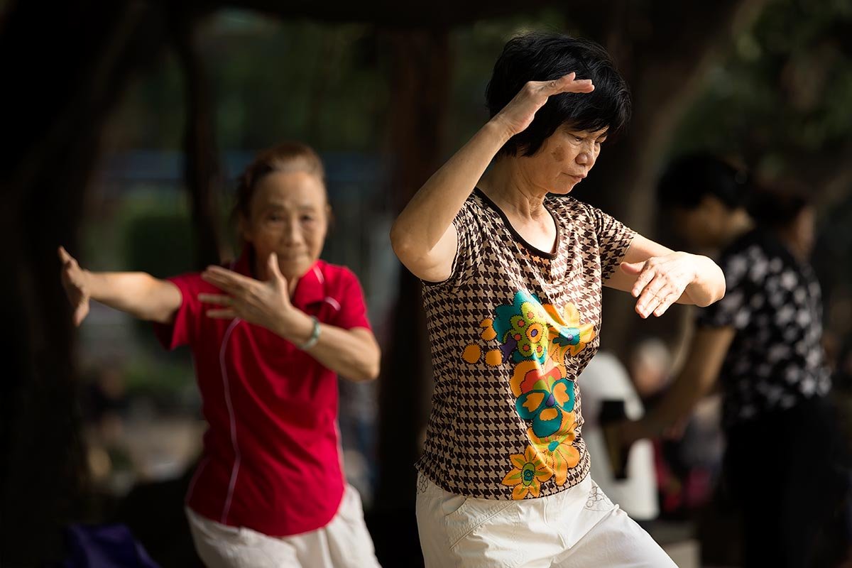 Tai Chi is an internal Chinese martial art practised for both its defense training and its health benefits.