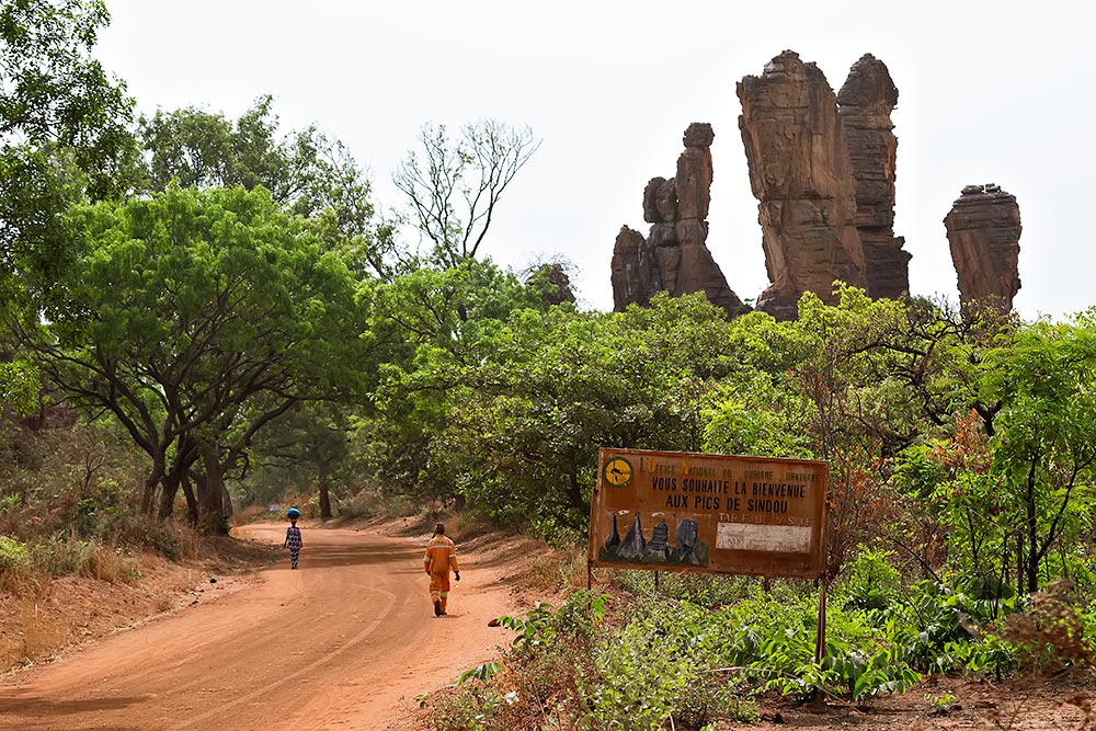 "Burkina Faso isn't full of natural wonders, but the rock formation ""Pics de Sindou"" is a must visit when in the area around Banfora."