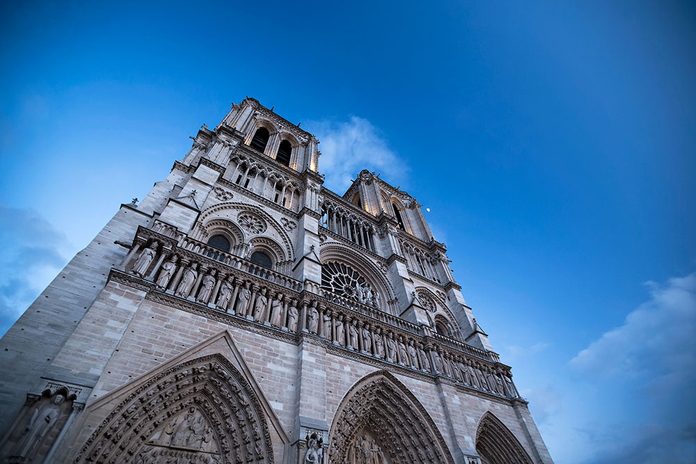 Cathedral Notre Dame in Paris, France.