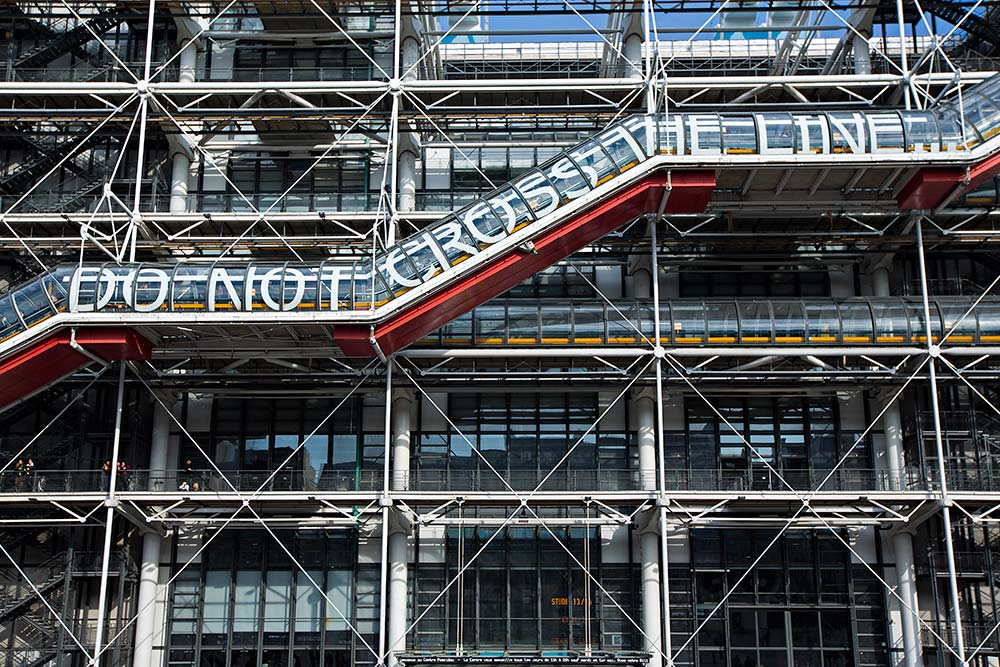 Centre Pompidou in Paris France.