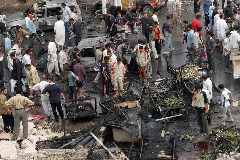 Iraq Suicide Bombings.